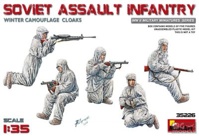 MiniArt 35226 1/35 Soviet Assault Infantry